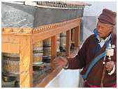 slides/95193033.JPG Buddha Diestel Dirk festival Fotograf geo:lat=34.16432162 geo:lon=77.58448362 geotagged India Jammu and Kashmir Leh Mönch monk Tempel temple Temple center of Leh 95193033