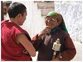 slides/95193035.JPG Buddha Diestel Dirk festival Fotograf geo:lat=34.16432162 geo:lon=77.58448362 geotagged India Jammu and Kashmir Leh Mönch monk Tempel temple Temple center of Leh 95193035
