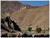slides/95317074.jpg Himalaya Indien Kloster Ladakh Motorrad Mönch Tanglangla Tempel Tso Moriri Tso kar 95317074