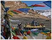 slides/95317109.jpg Himalaya Indien Kloster Ladakh Motorrad Mönch Tanglangla Tempel Tso Moriri Tso kar 95317109